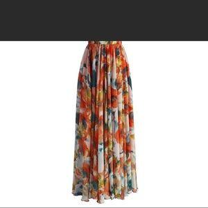 Dresses & Skirts - Chiffon maxi skirt